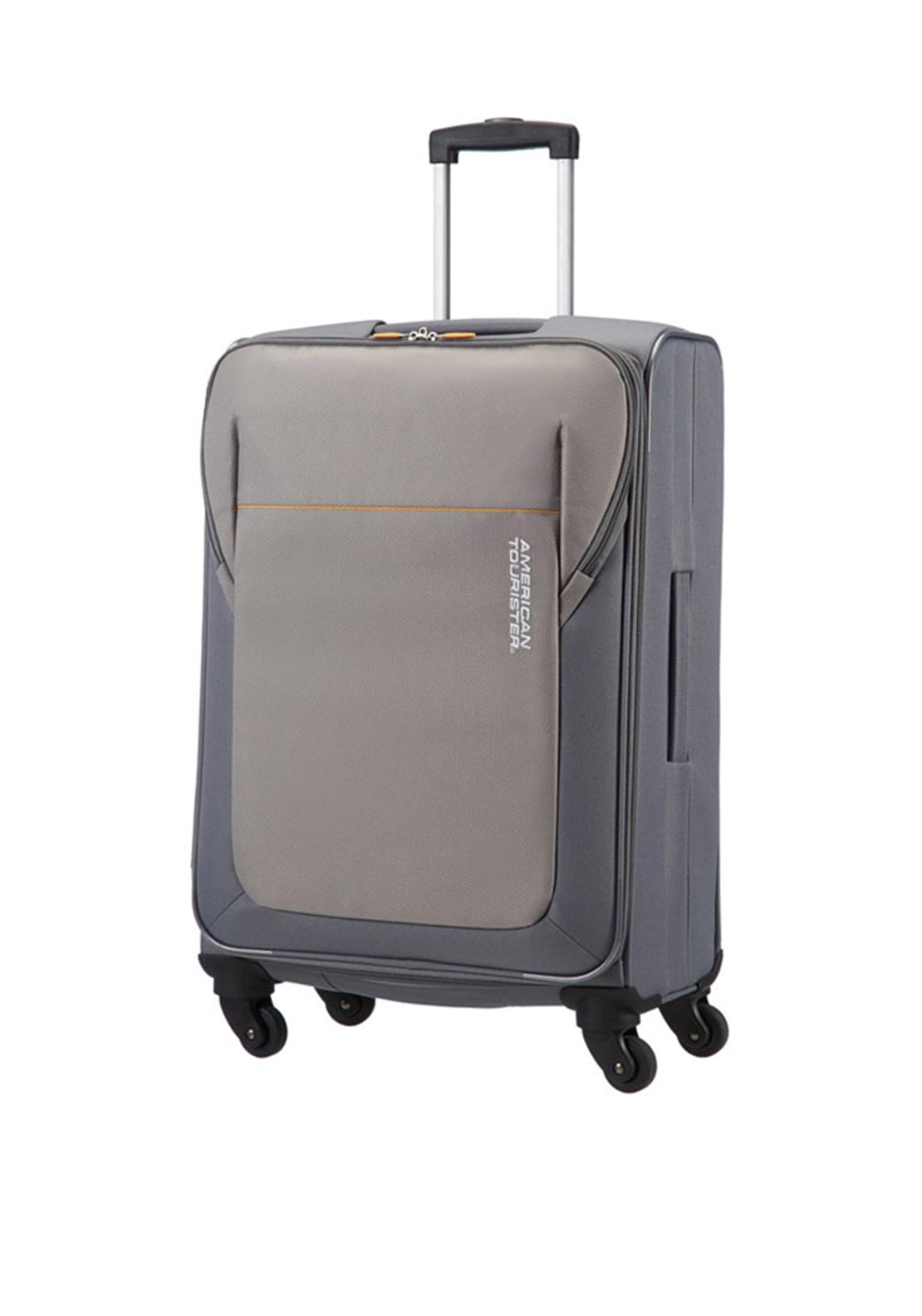 American Tourister San Francisco Spinner Medium 66cm Suitcase, Grey