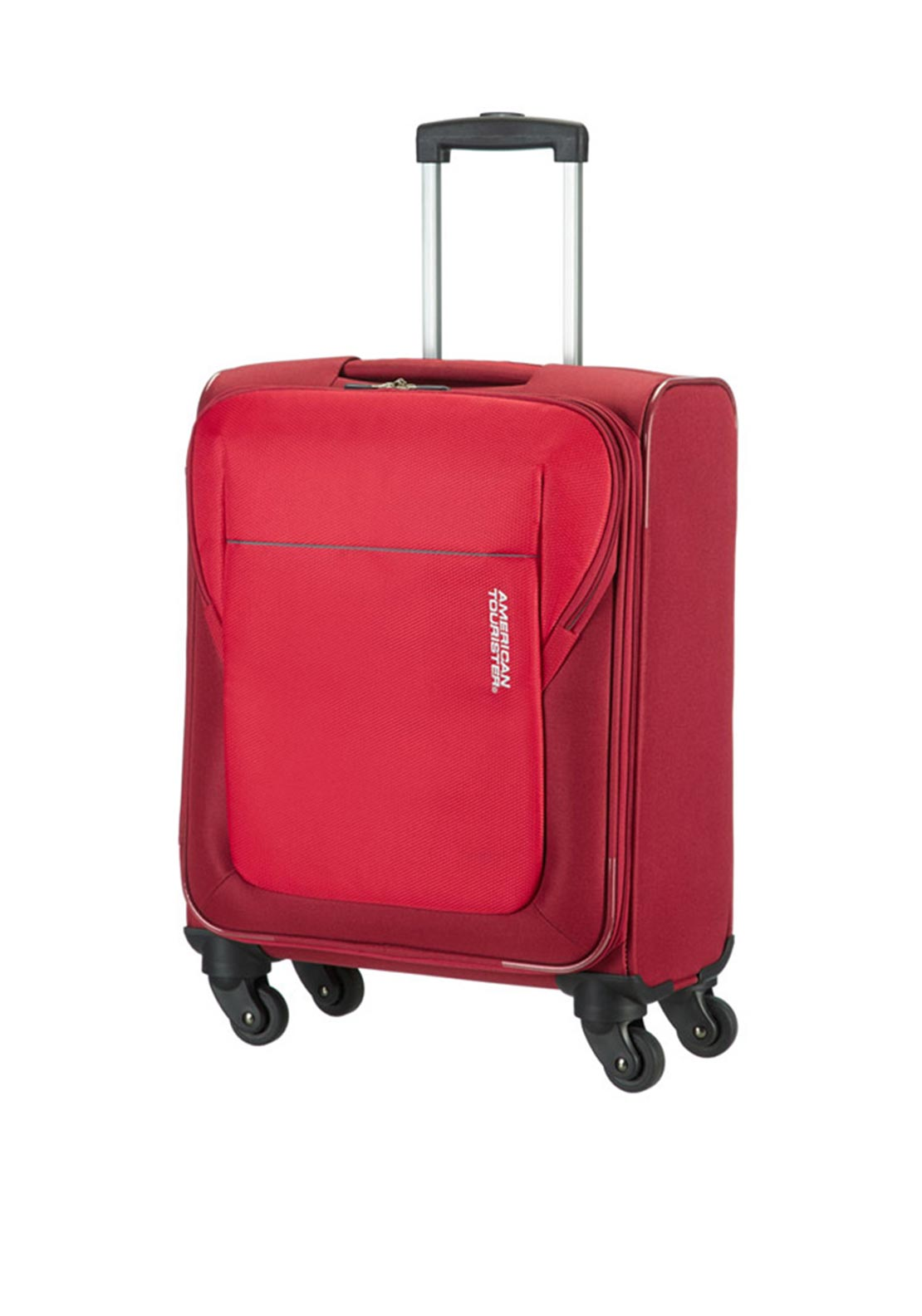 American Tourister San Francisco Spinner Cabin Size Suitcase 55cm, Red