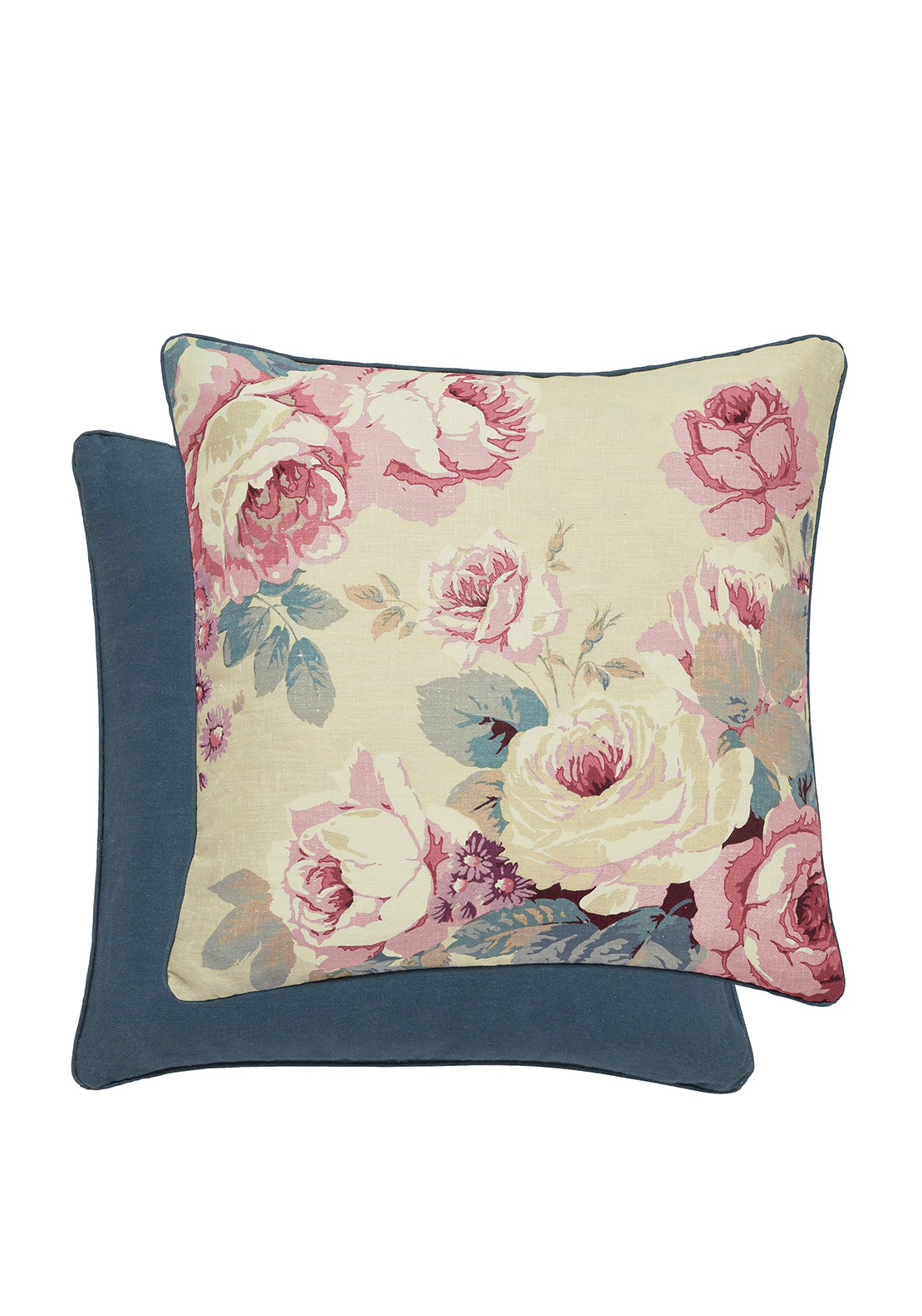 Sanderson Chelsea Cushion Indigo & Berry