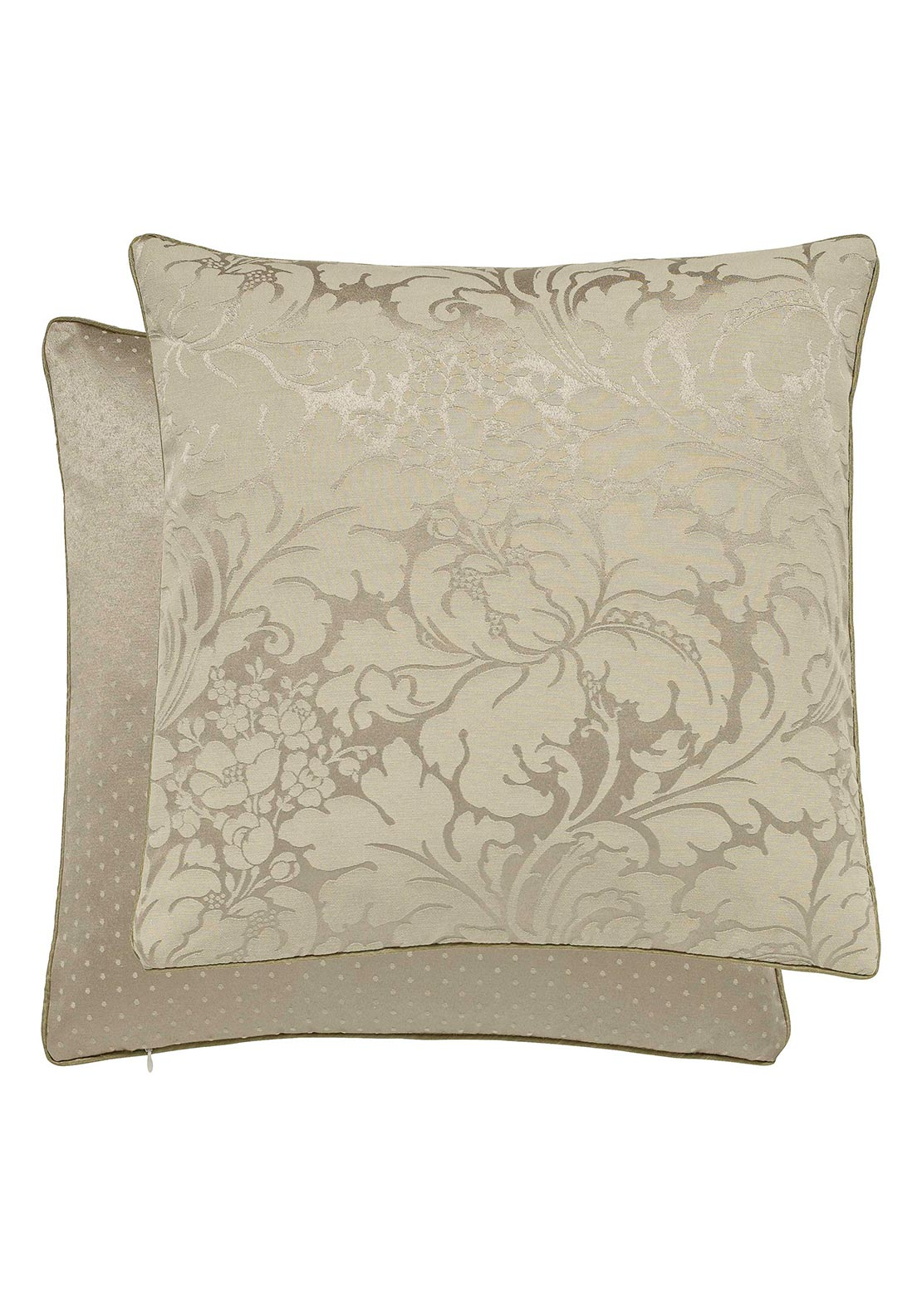 Sanderson Eleanor Jacquard Cushion, Gold