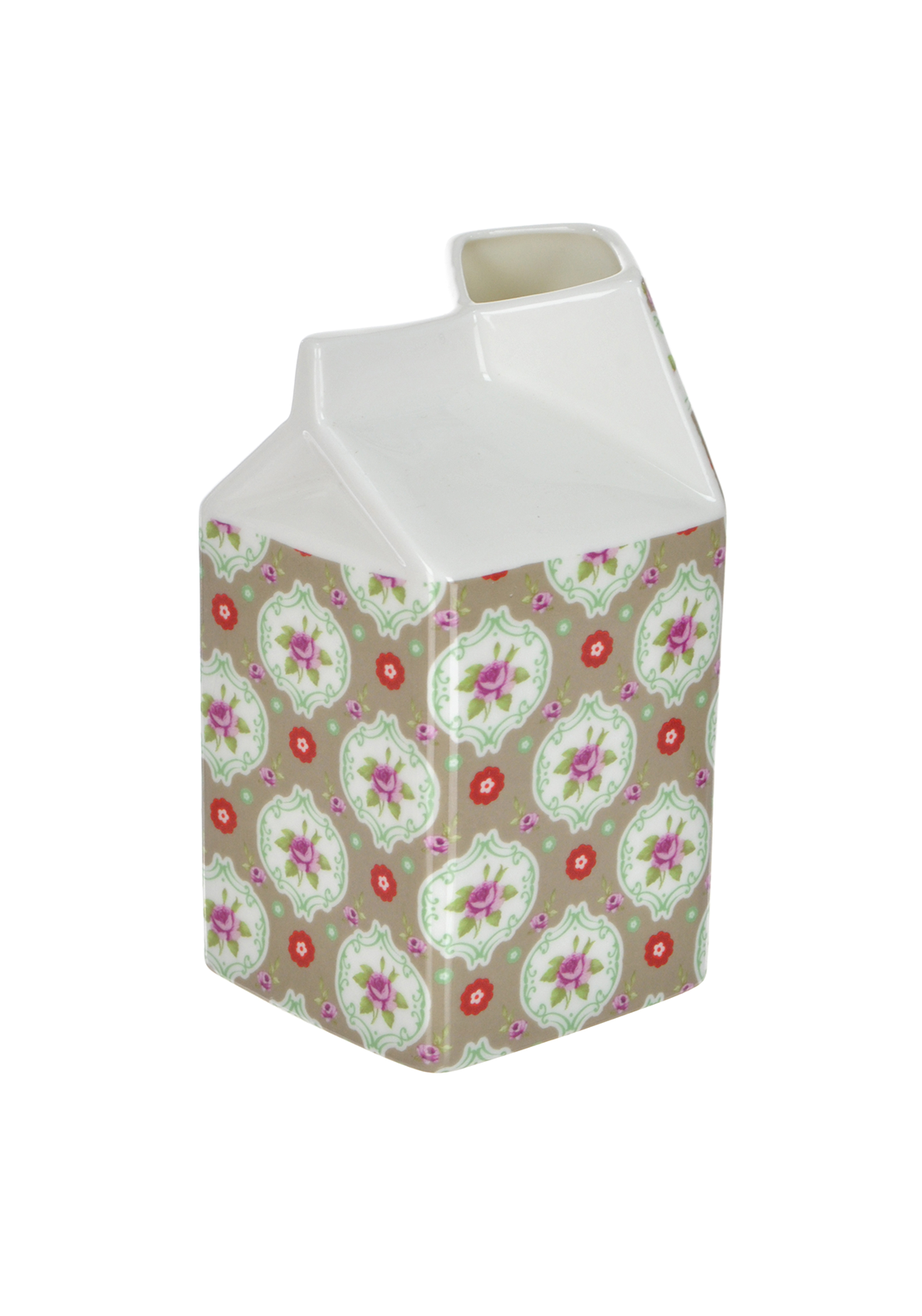 Shannon Bridge Buds Large Carton, White/Multi Floral Design