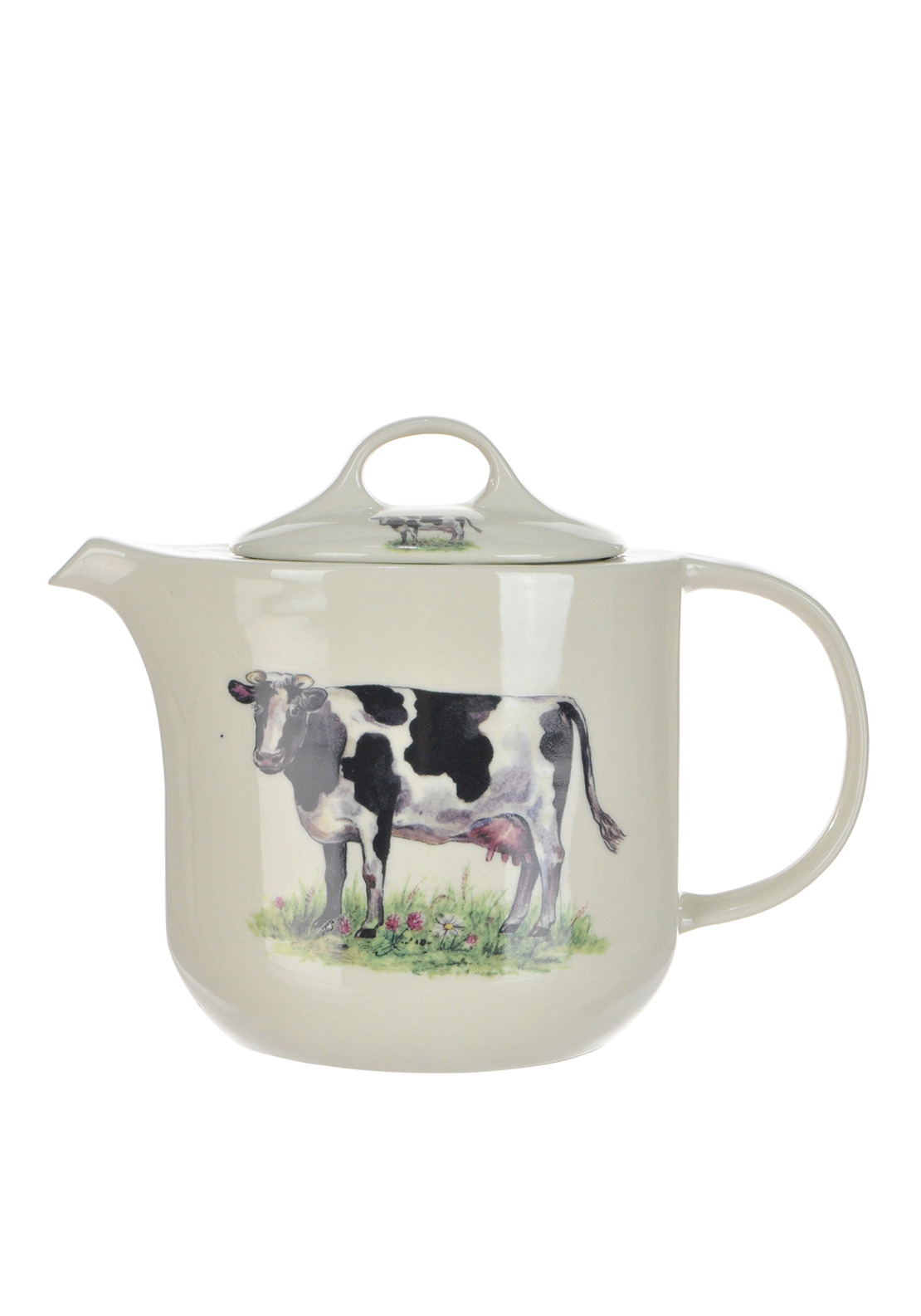 Shannonbridge Ireland Farm Cow Six Cup Teapot