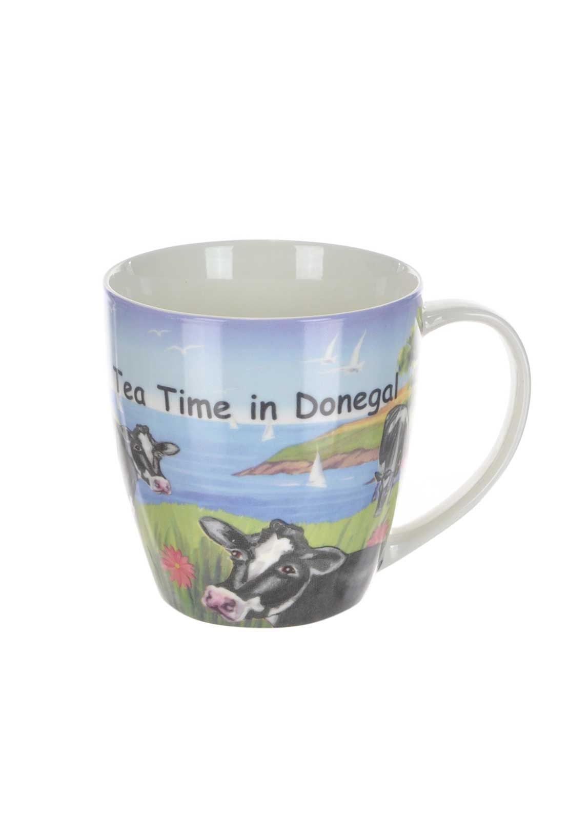 Shannonbridge Ireland Fresians Mug, Multi