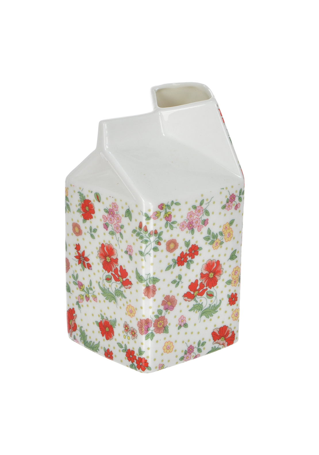 Shannon Bridge Ireland Miss Poppie Large Carton, White/Multi Floral Design