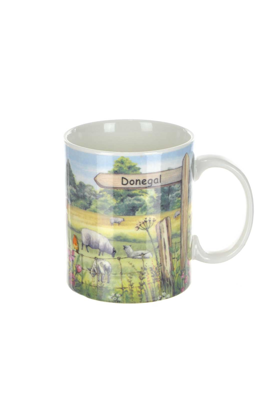 Shannonbridge Ireland Signpost Mug, Multi