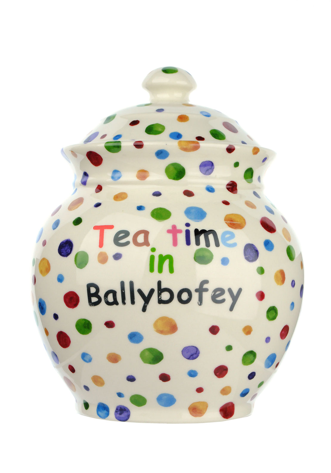 Shannon Bridge Tea Time In Ballybofey Storage Jar, Large