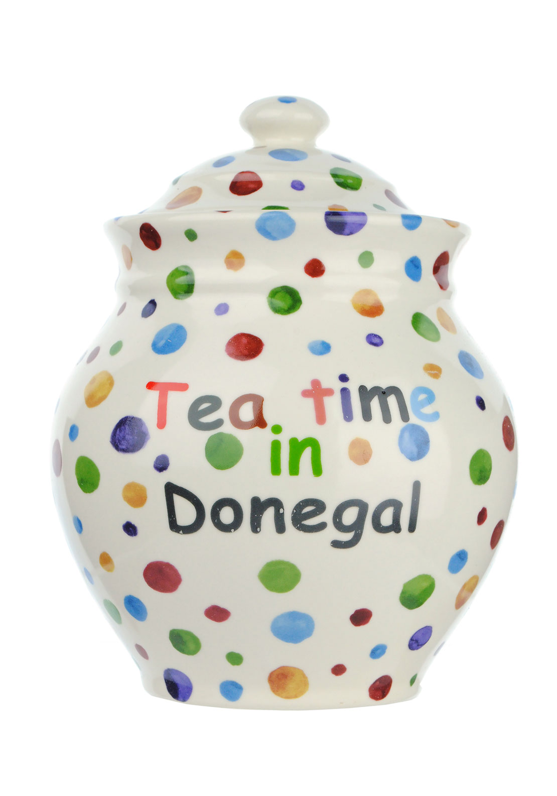 Shannon Bridge Tea Time In Donegal Storage Jar, Small