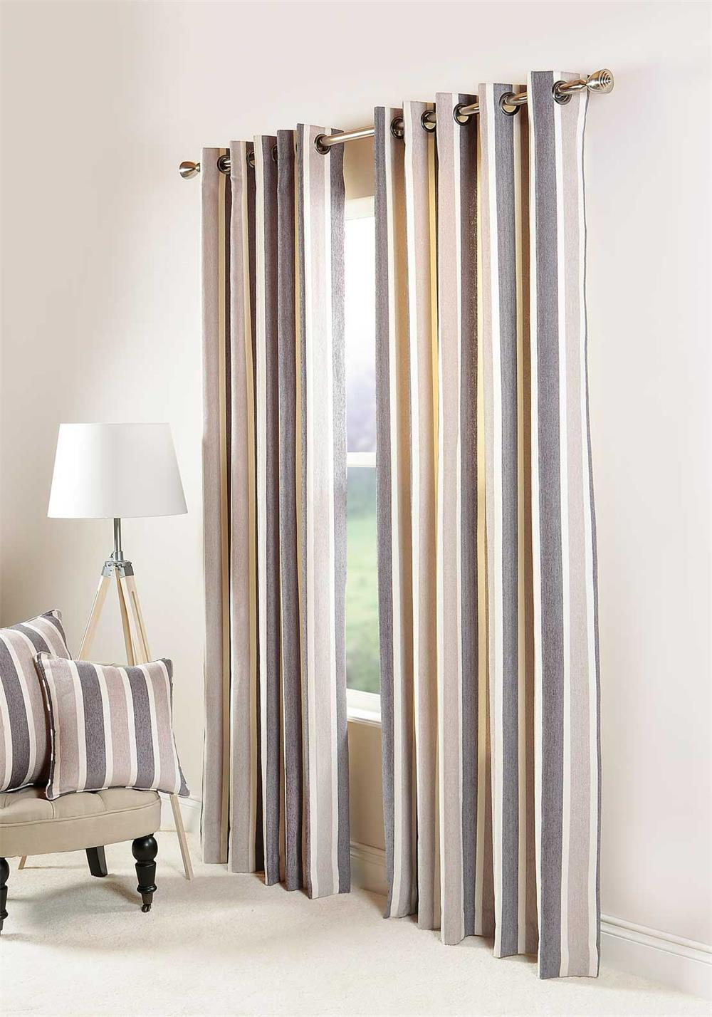 Scatterbox New Haven Fully Lined Ready-Made curtains, Grey