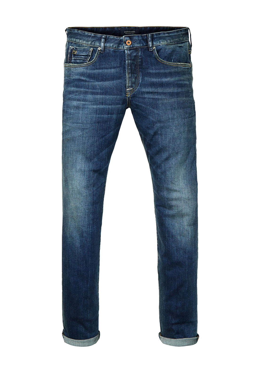 Scotch & Soda Mens Ralston Best Of Blue Jean, Indigo