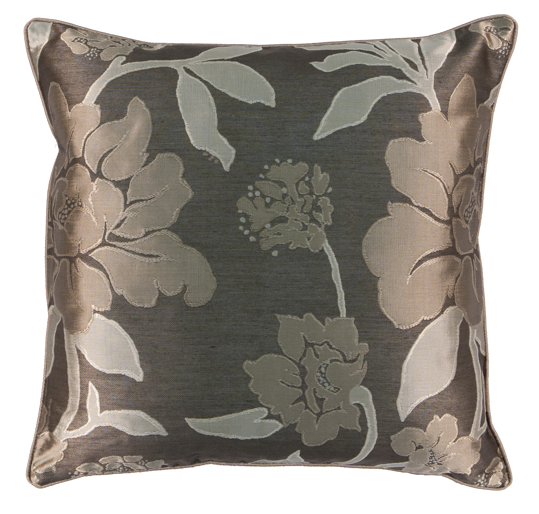 Scatterbox Wisteria Filled Cushion 45x45cm, Latte