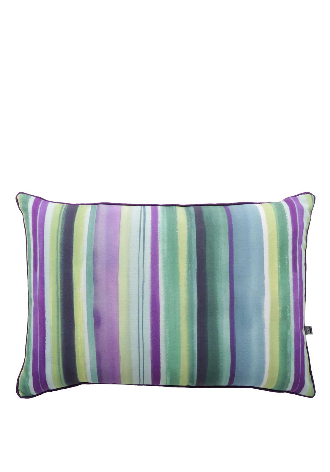 Scatterbox Audrey Striped Cushion Multi-Coloured 35 x 50cm