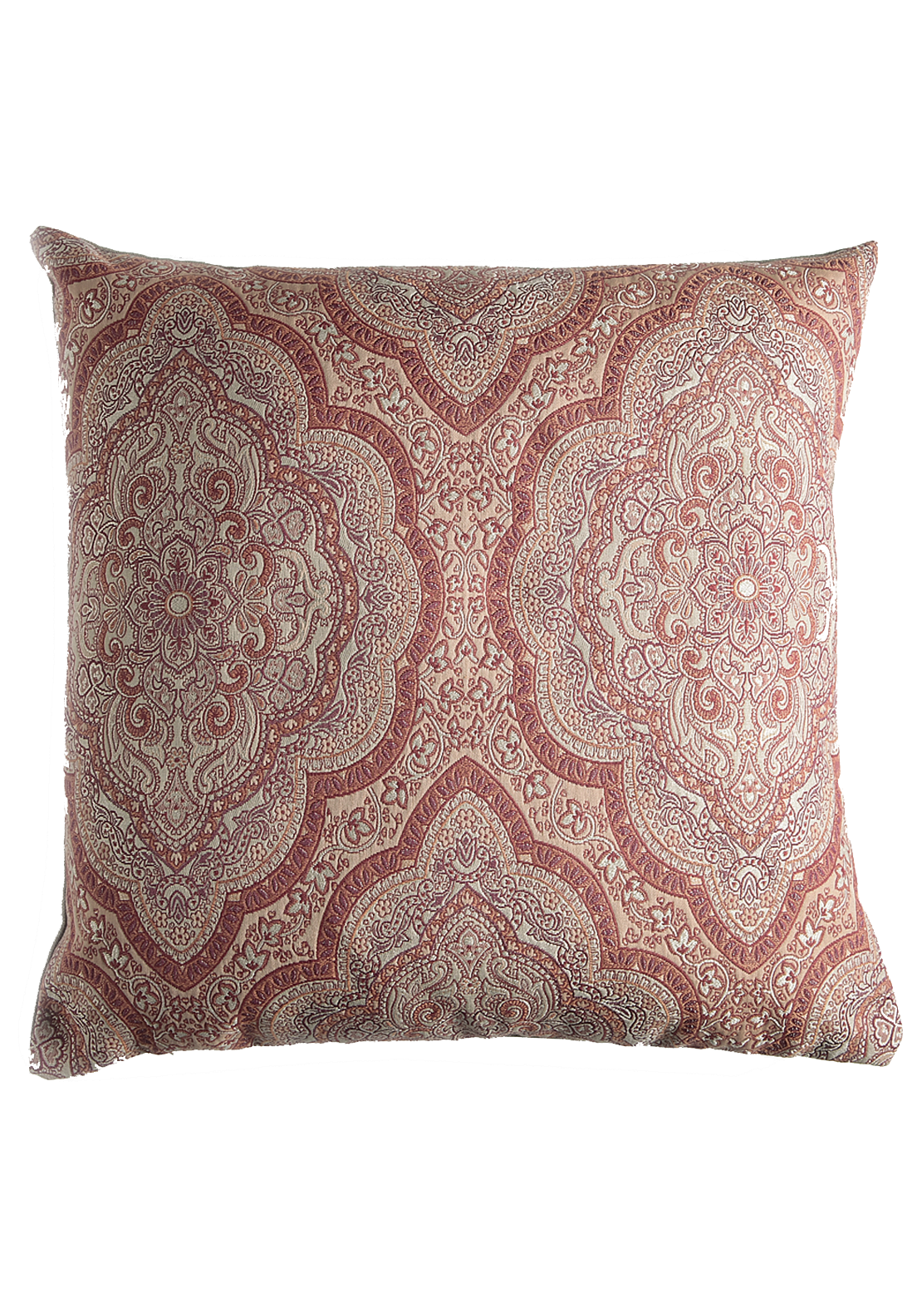 Scatterbox Sheba Paisley Feather Filled Cushion, 45 x 45cm Rust