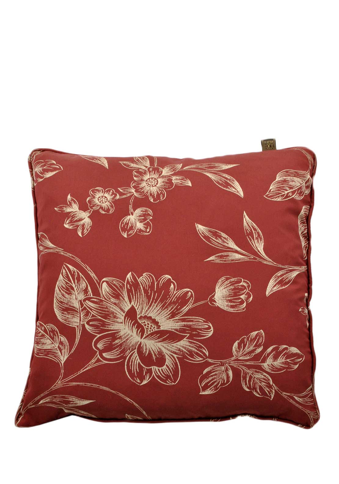 Scatterbox Lucano Cushion, 45 x 45cm, Terracotta