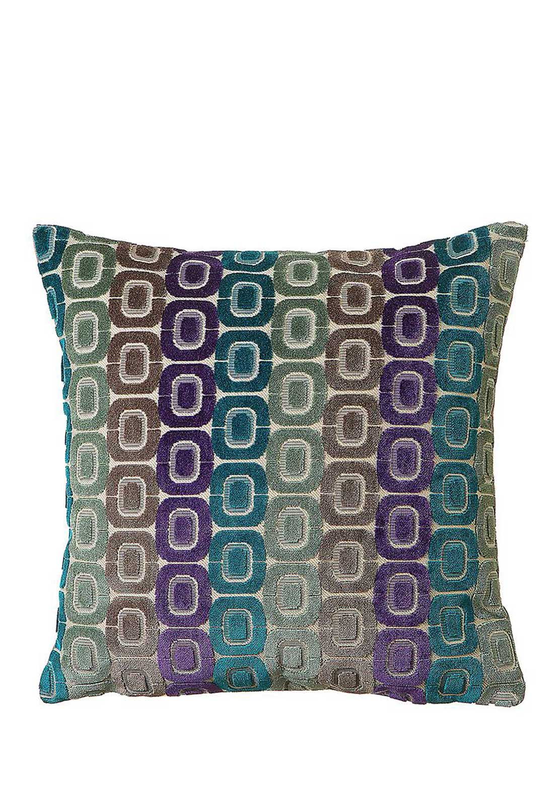 Scatterbox Oracle Cushion, 45 x 45cm, Turquoise