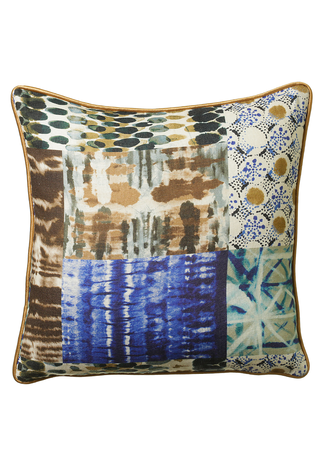 Scatterbox Batik Cushion 43x43, Indigo