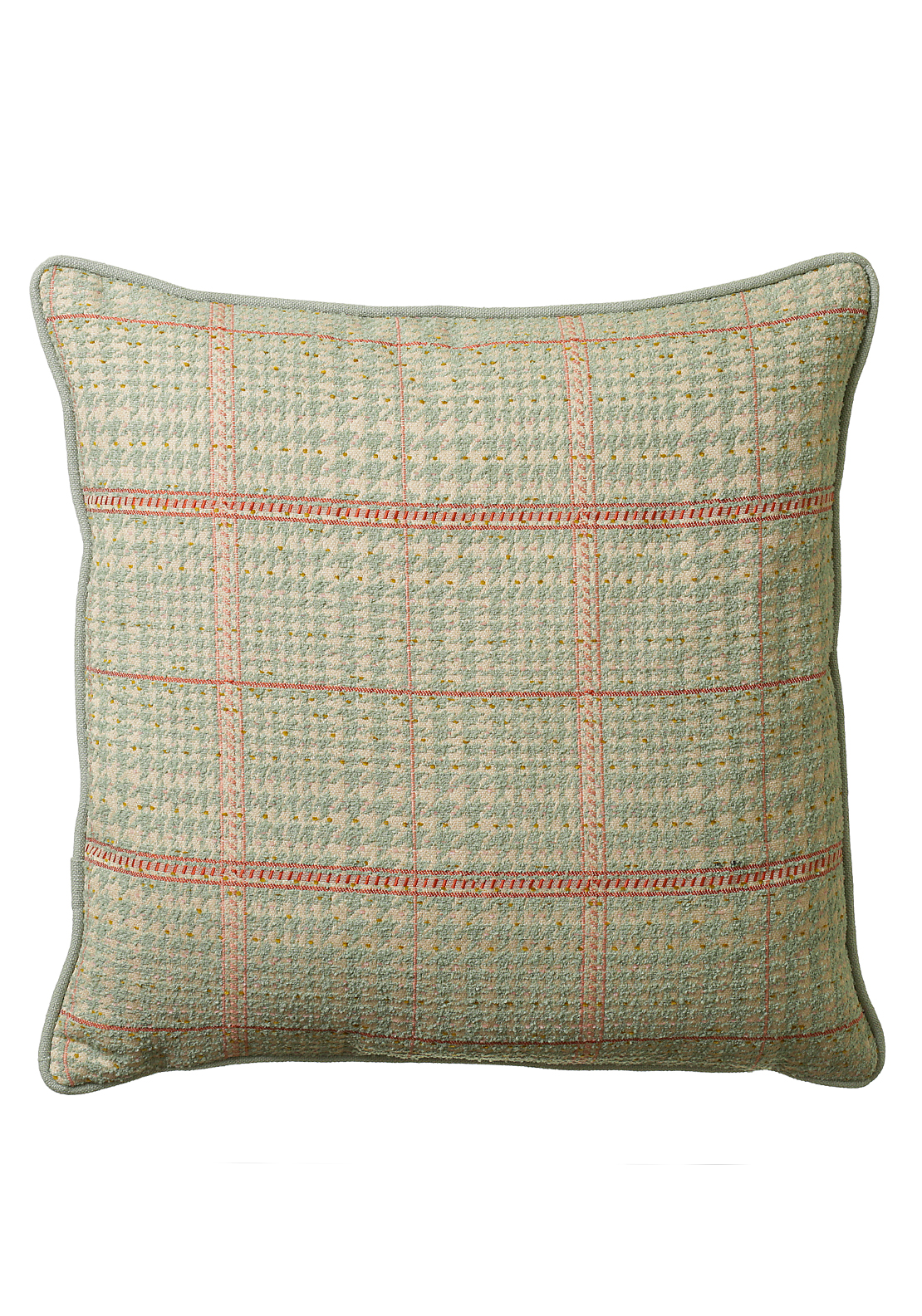 Scatterbox Bracken Cushion Aqua 43 x 43cm