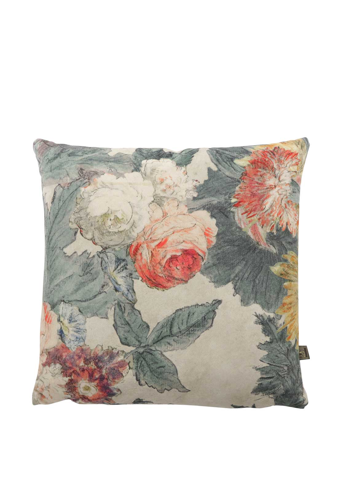 Scatterbox Bouquet Cushion Coral 43 X 43cm