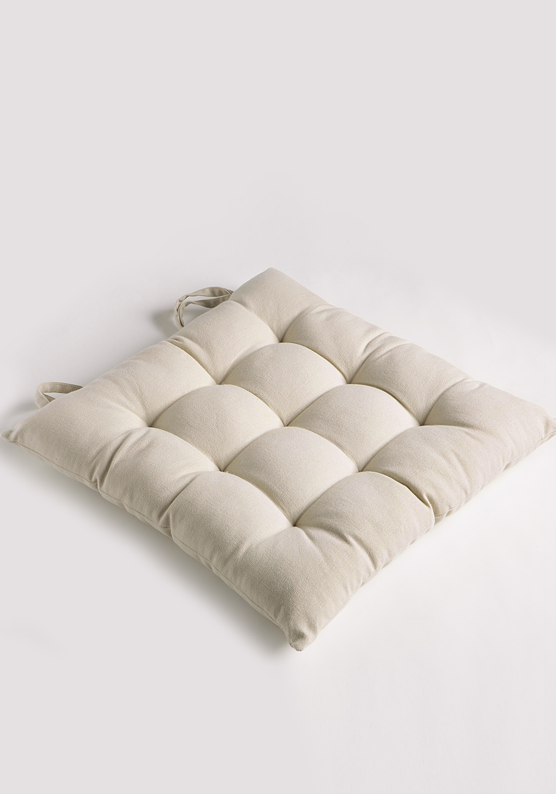 Scatterbox Pintuck Seat Pad, 40 x 40cm Natural