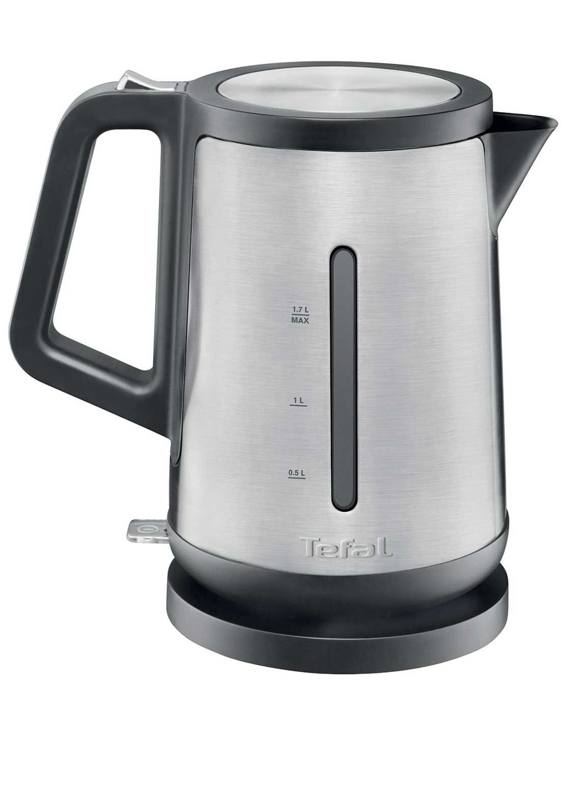 Tefal 1.7L Prelude Electric Kettle, Stainless Steel Silver