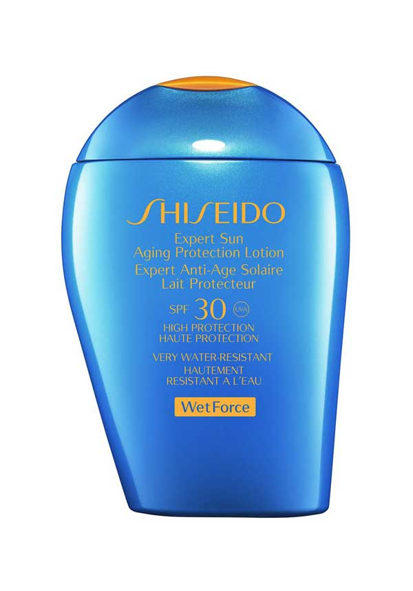 Shiseido Wet Force Expert Sun Aging Protection Lotion SPF30, High Protection, 100ml