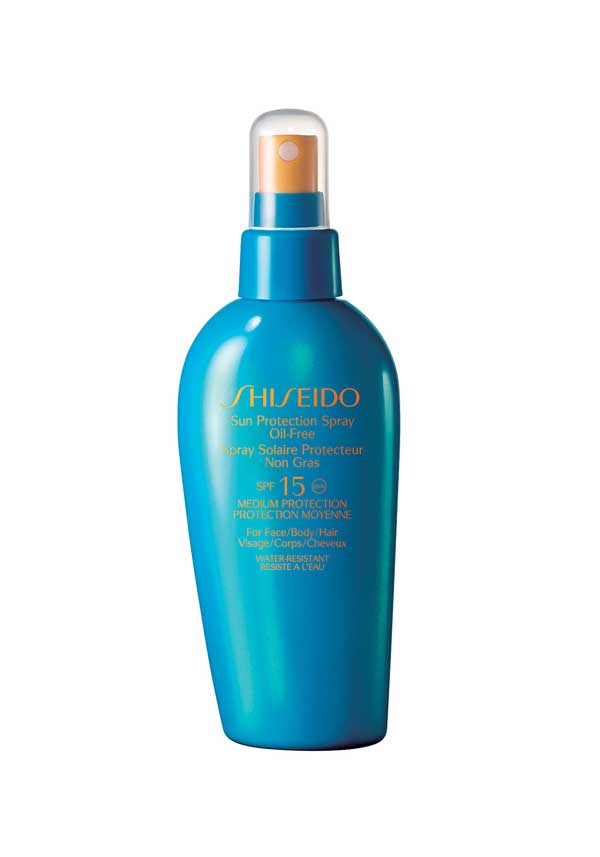 Shiseido Sun Protection Spray Oil Free SPF15, Medium Protection, 150ml