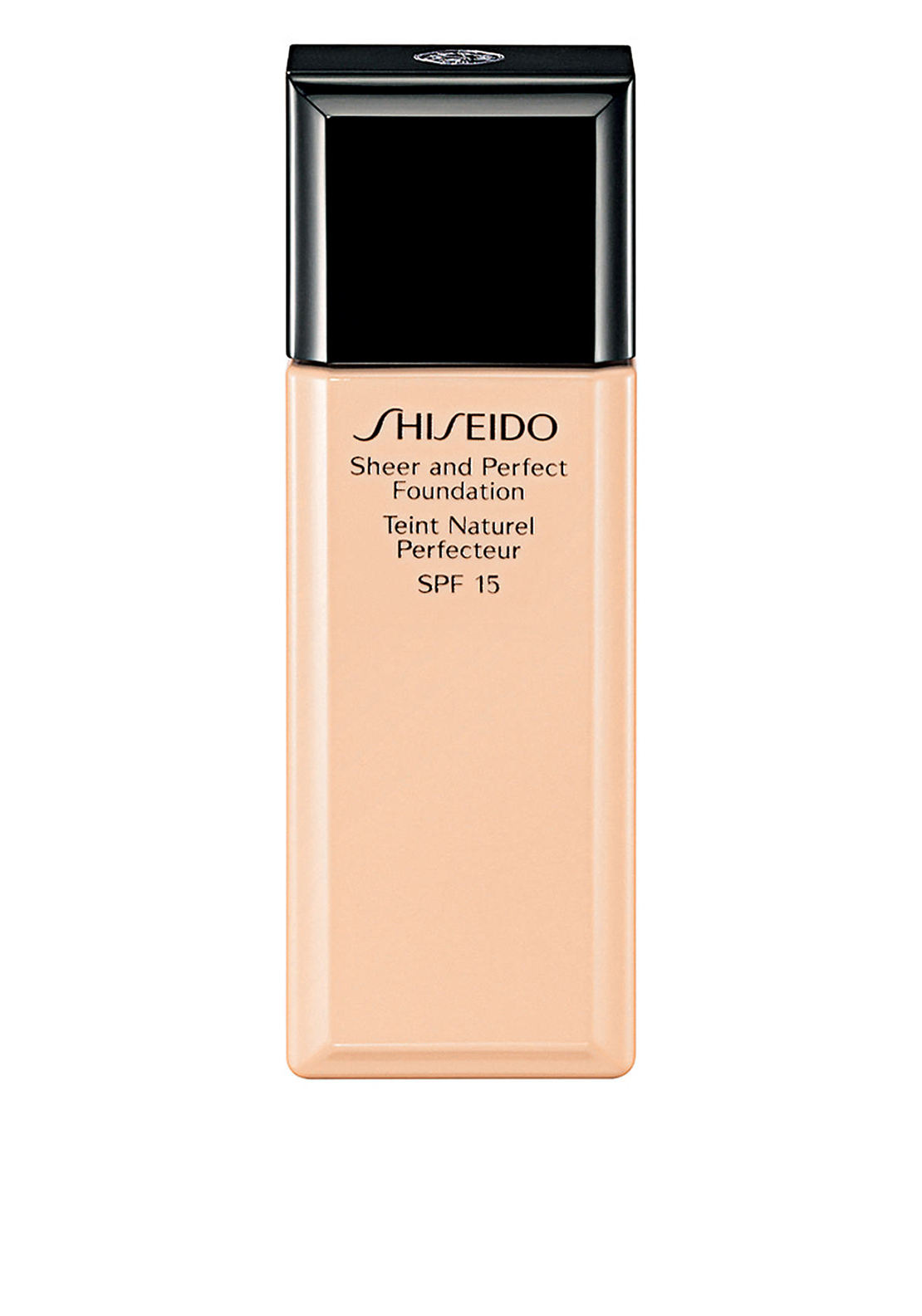 Shiseido Sheer and Perfect Foundation, Natural Deep Warm Beige WB60