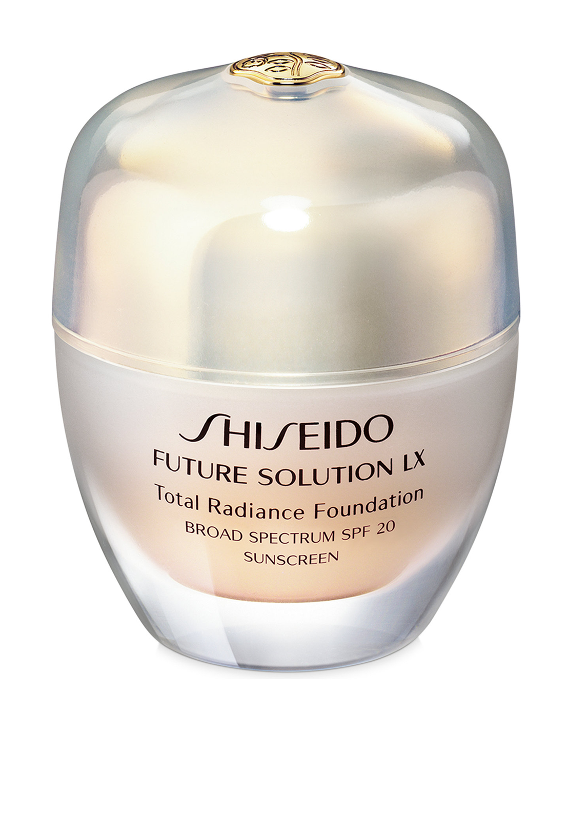 Shiseido Future Solution LX Total Radiance Foundation SPF15, Natural Fair Ivory 140