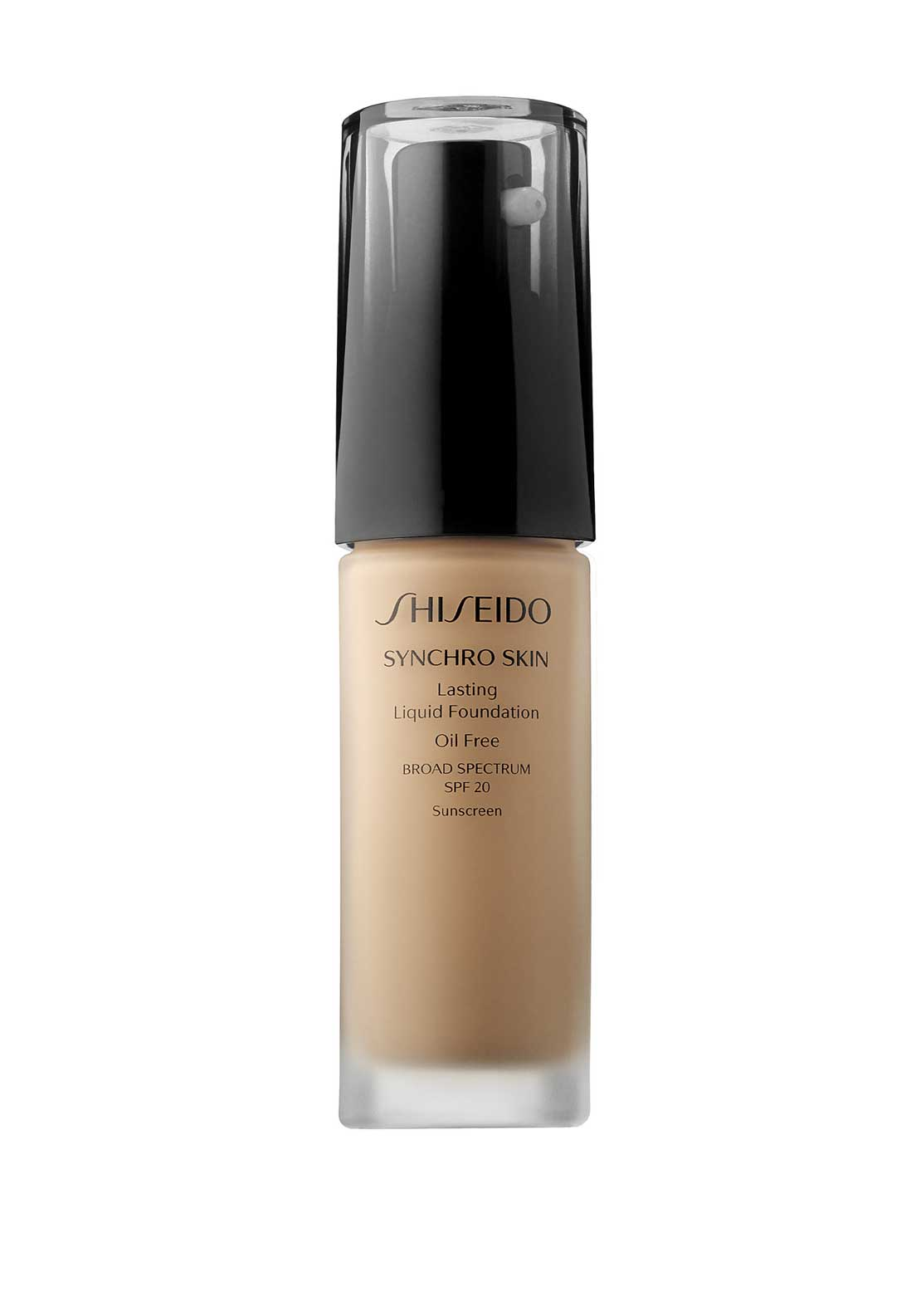 Shiseido Synchro Skin Lasting Liquid Foundation, Broad Spectrum SPF 20, Rose 4
