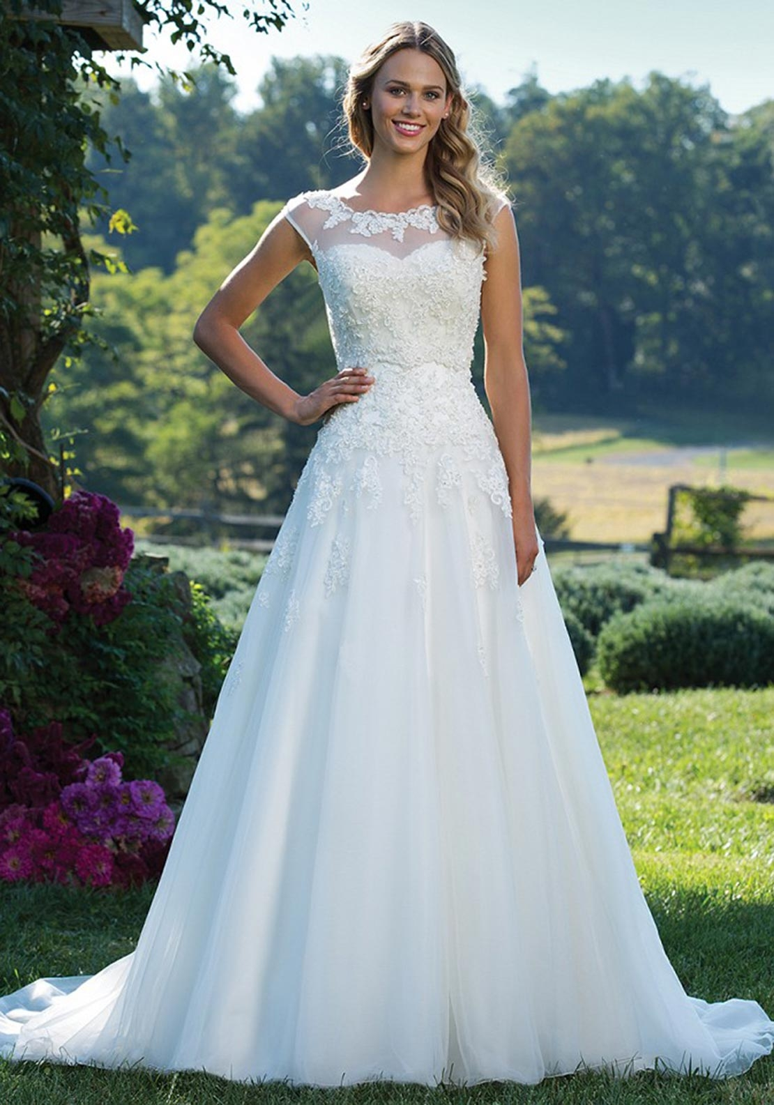 Sincerity 3771 Wedding Dress Ivory