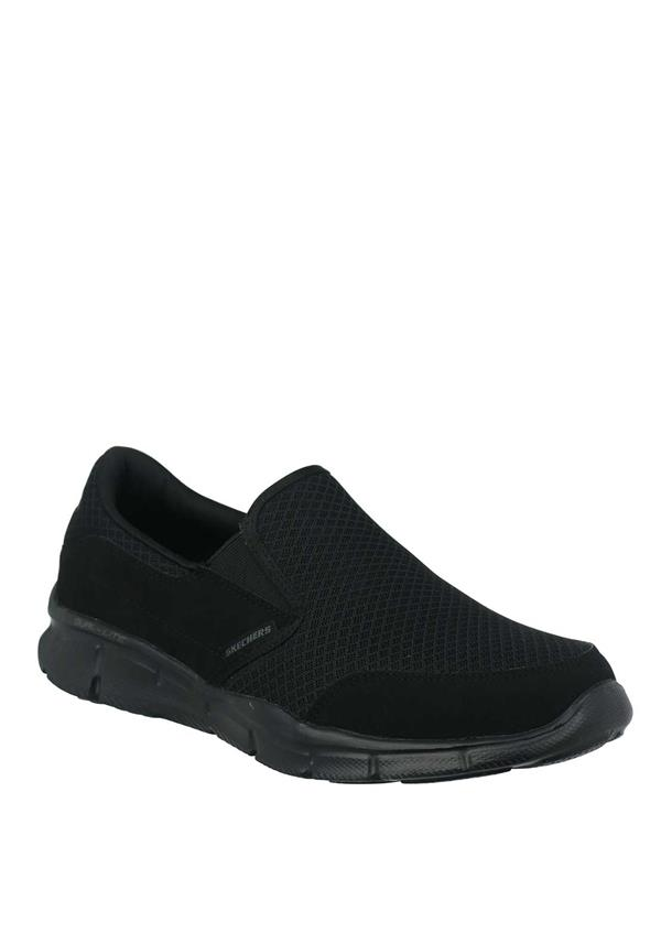 Skechers Mens Dual Lite Slip On Trainers, Black