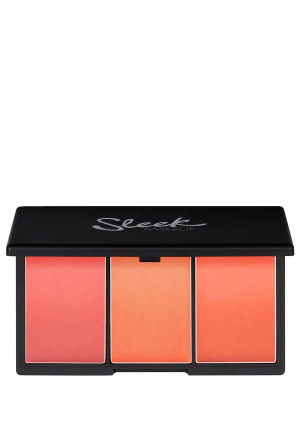 Sleek MakeUP Blush by 3 Blusher Palette in CALIFORN.I.A, 370