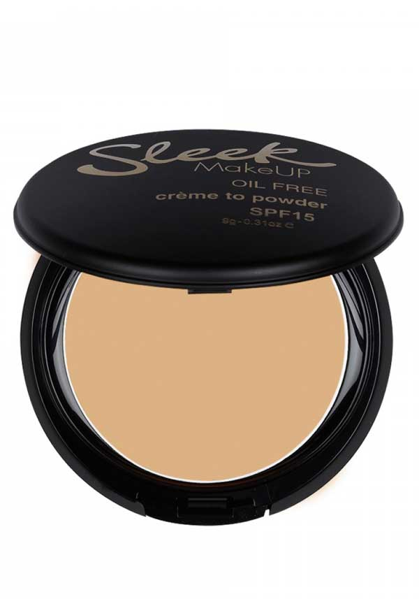 Sleek MakeUP Crème to Powder foundation in Shell, 465
