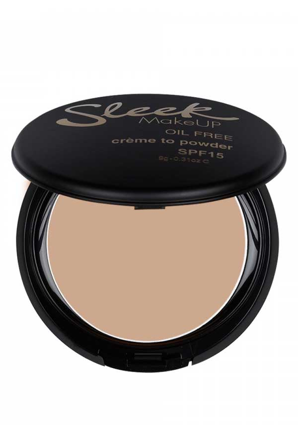 Sleek MakeUP Crème to Powder foundation in Oyster, 701