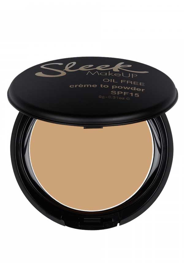 Sleek MakeUP Crème to Powder foundation in White Rose, 702