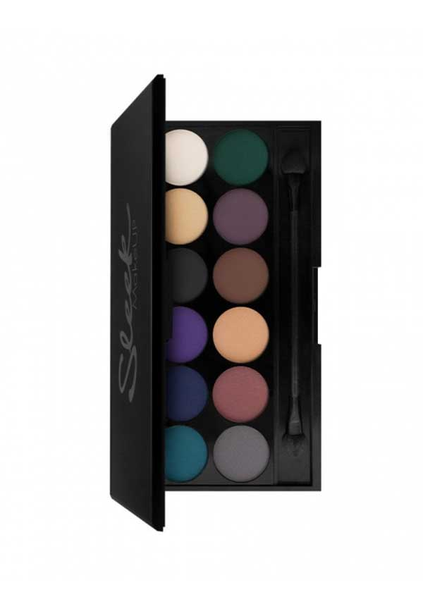 Sleek MakeUP i-Divine Ultra Mattes v2 Darks Eyeshadow Palette, 731