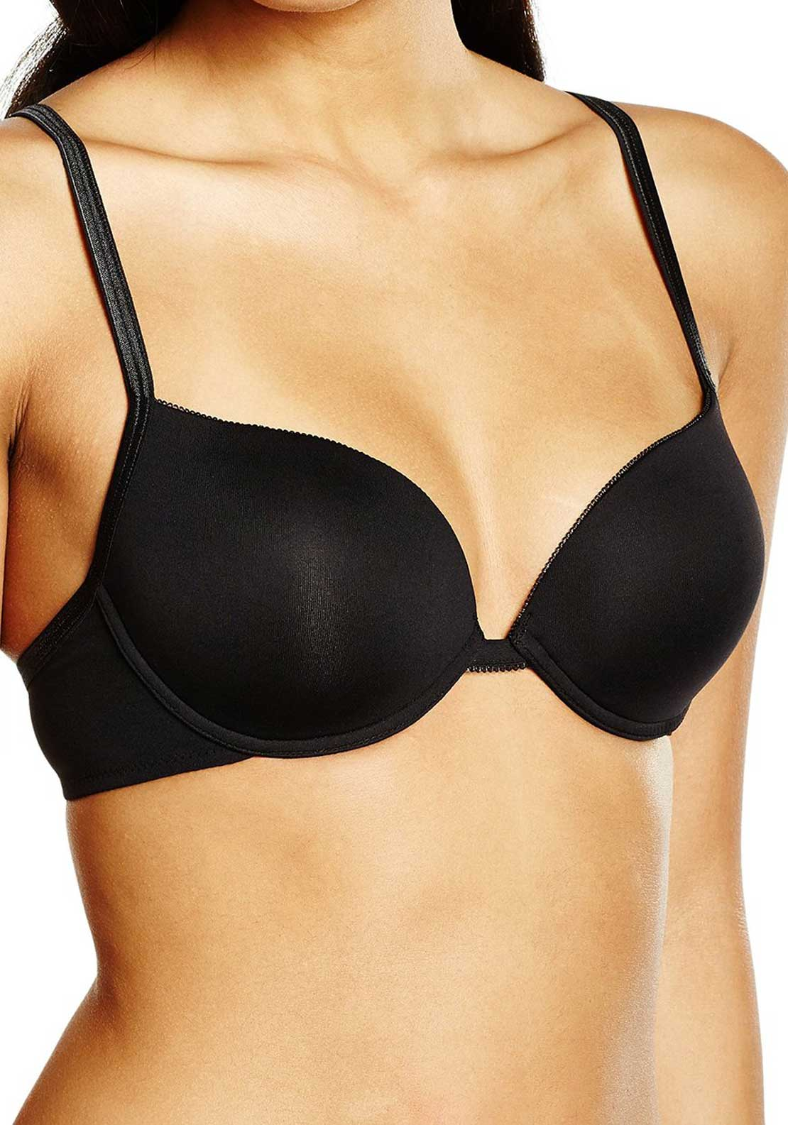 Sloggi Pure Underwired Bra, Black