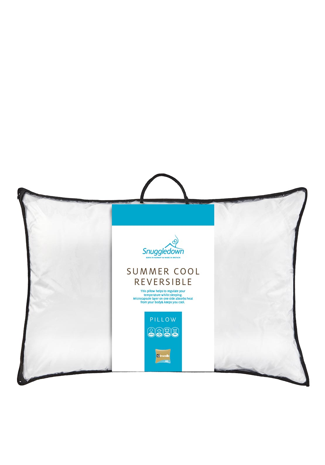 Snuggledown Summer Cool Reversible Pillow