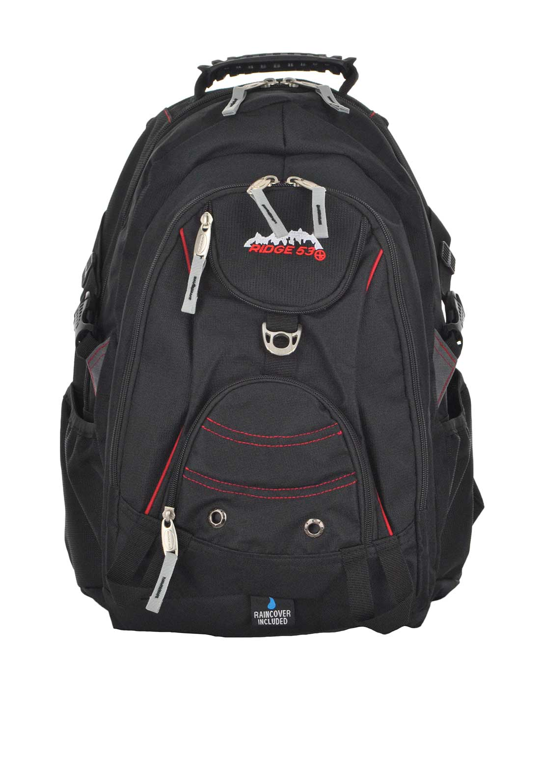 Ridge 53 Bolton Back Pack School Bag, Black