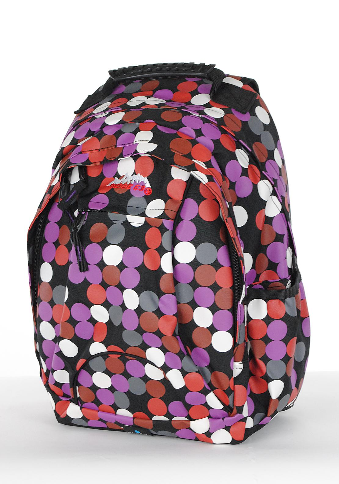 Ridge 53 Abbey Suesey Dots Backpack School Bag, Multi