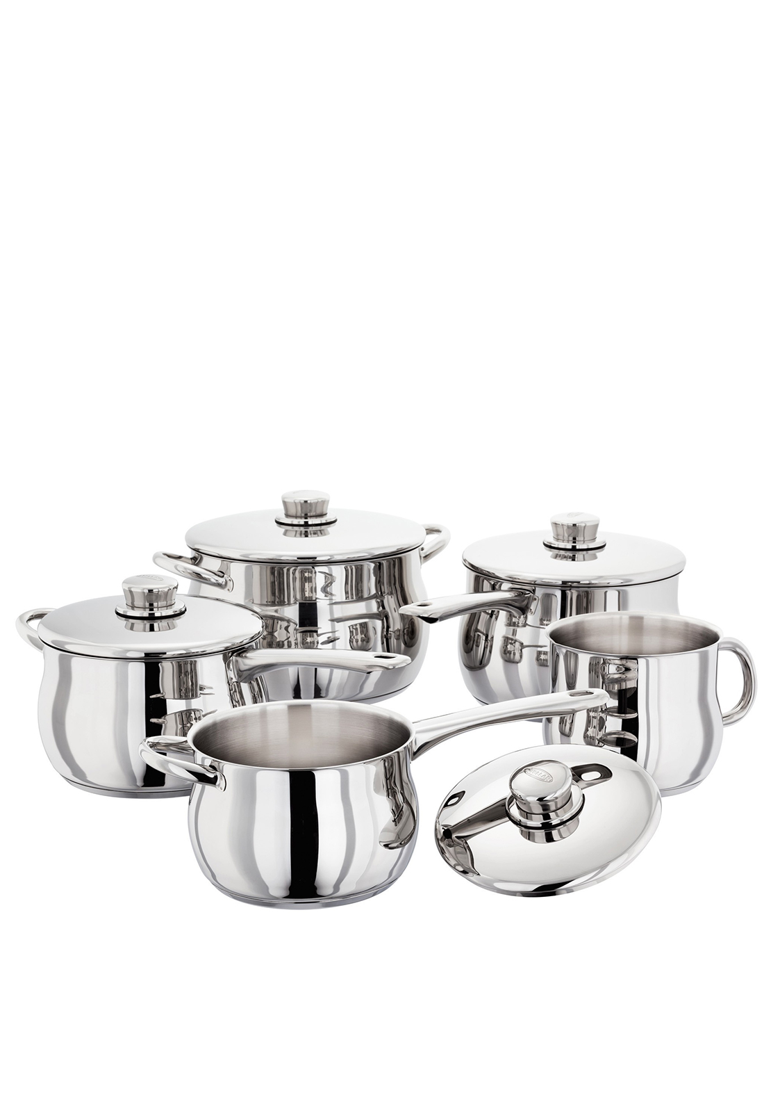 Stellar Deep 5 Piece Set, Silver