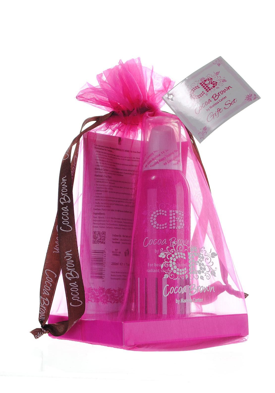 Cocoa Brown by Marissa Carter Tanning Gift Set