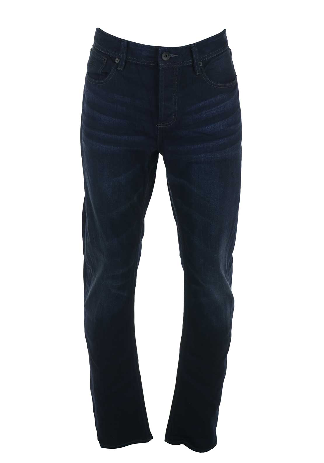 Superdry Mens Cooperfill Loose Jeans, Dark Blue Medium