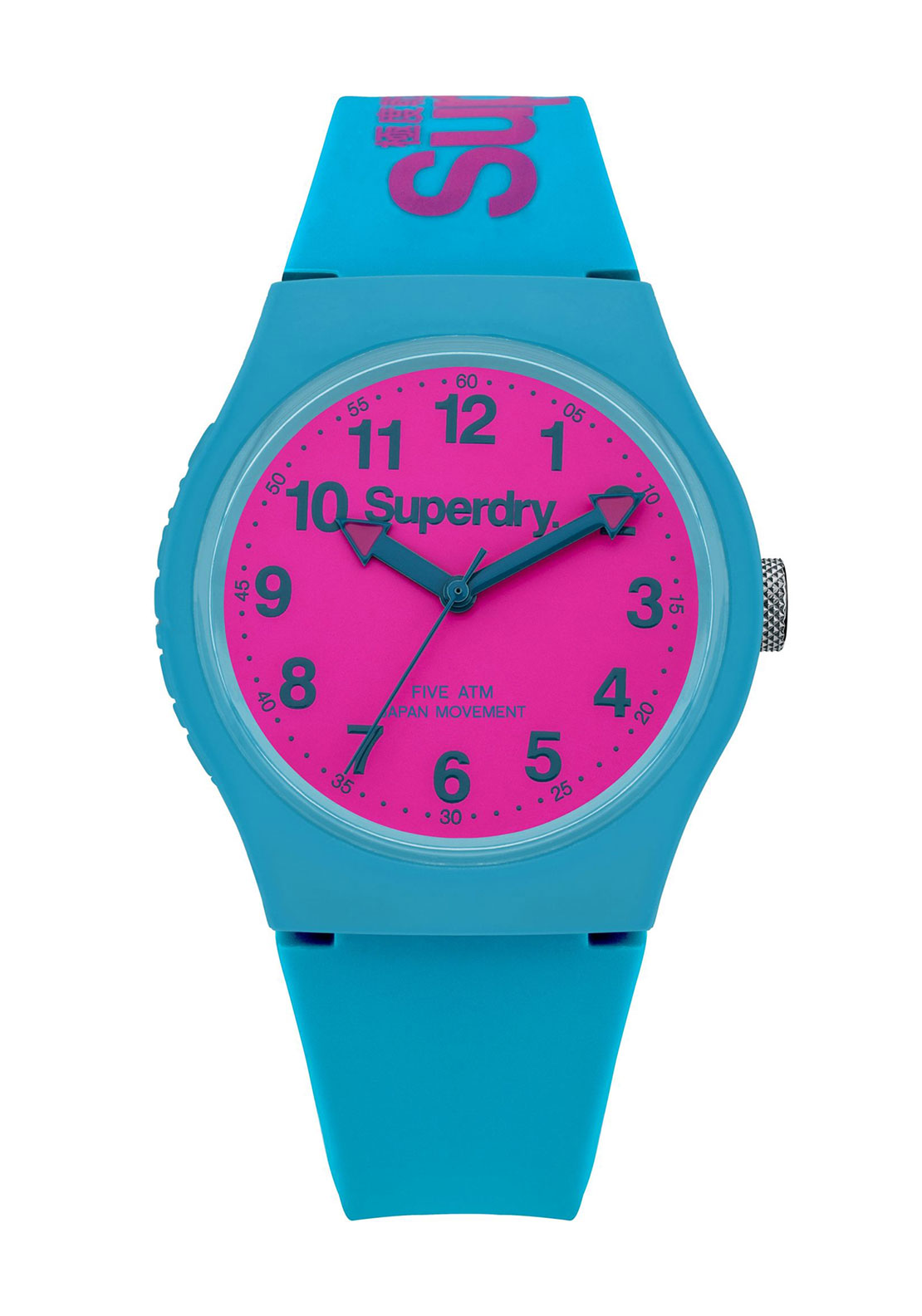 Superdry Womens Urban Watch, Teal