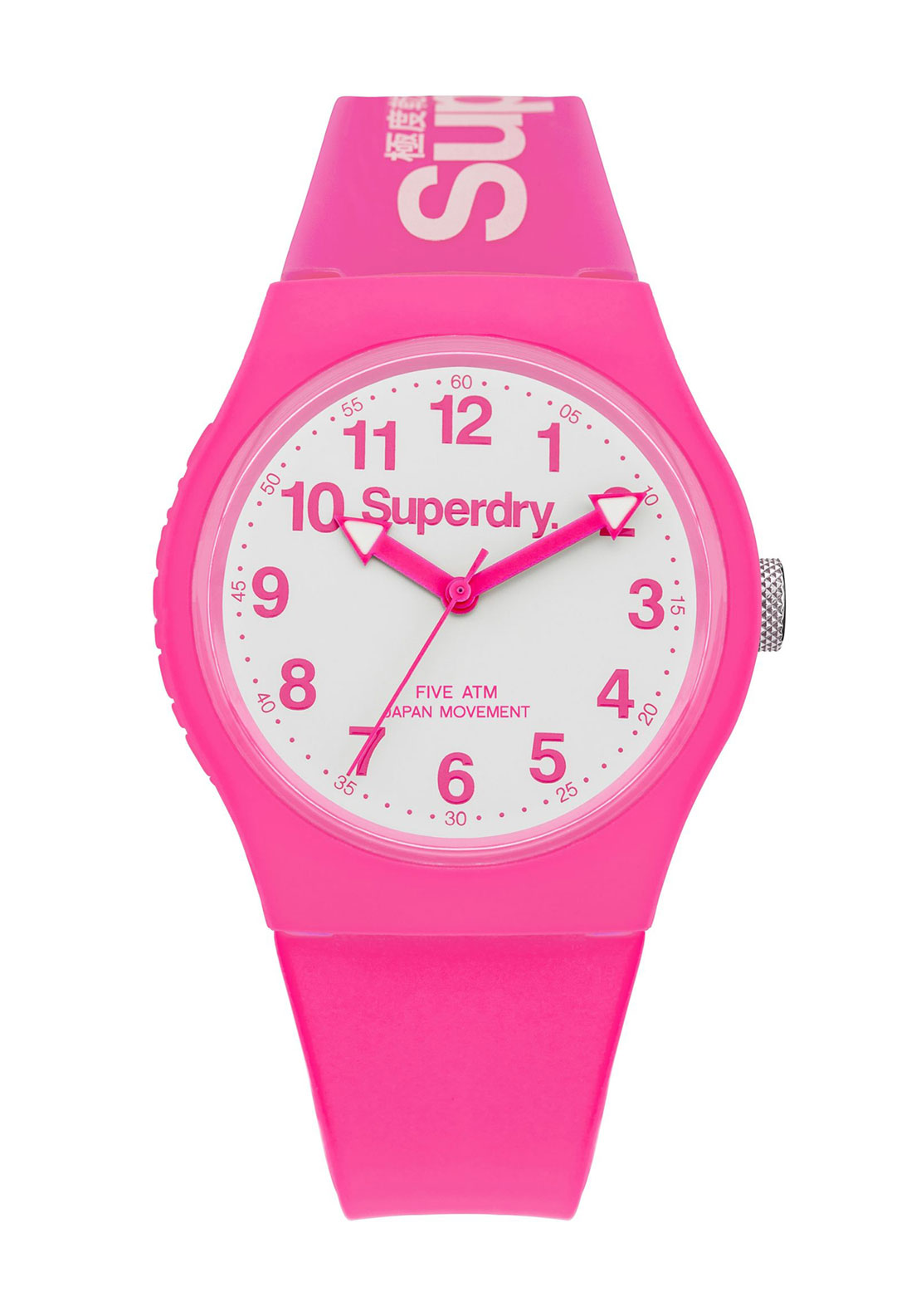 Superdry Womens Urban Watch, Pink