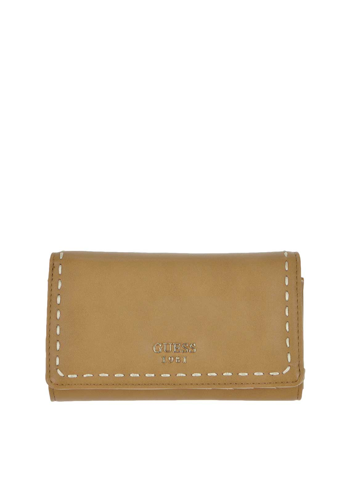 Guess Juliana Flap Wallet, Brown
