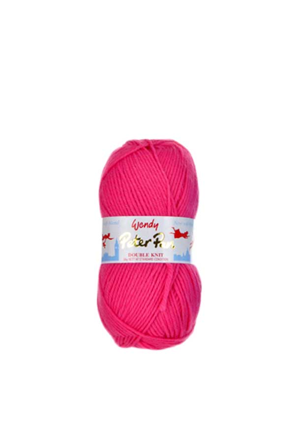 Wendy Peter Pan Double Knit Wool, 933 Raspberry