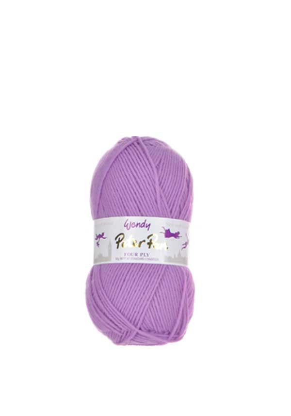 Wendy Peter Pan Four Ply Wool, 936 Lupin