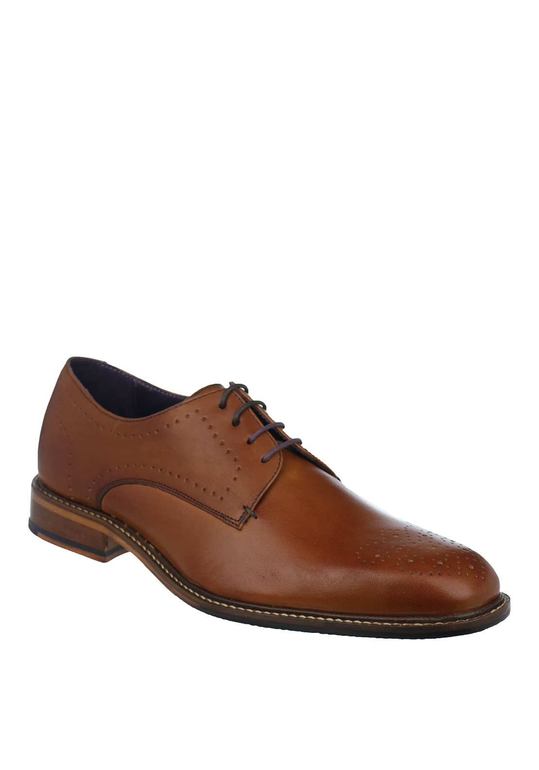 Ted Baker Mens Marar Leather Shoe, Tan