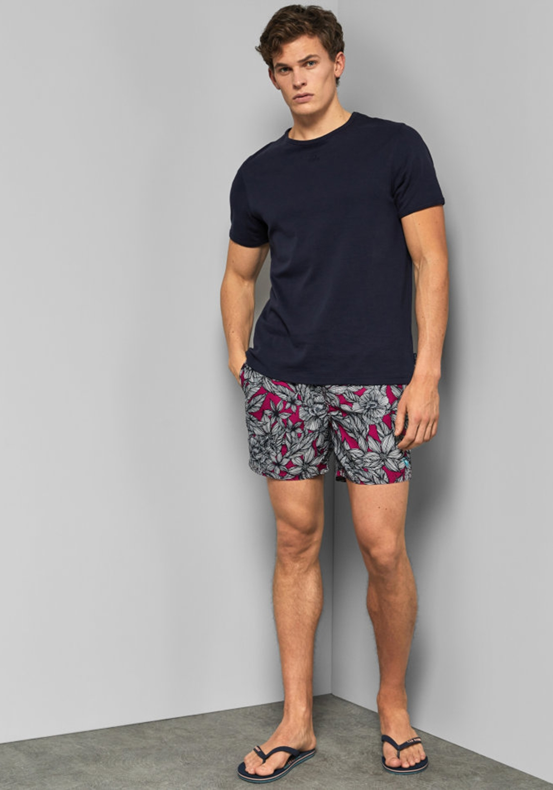 985e28ff2 You re reviewing  Ted Baker Floral Print Swim Shorts