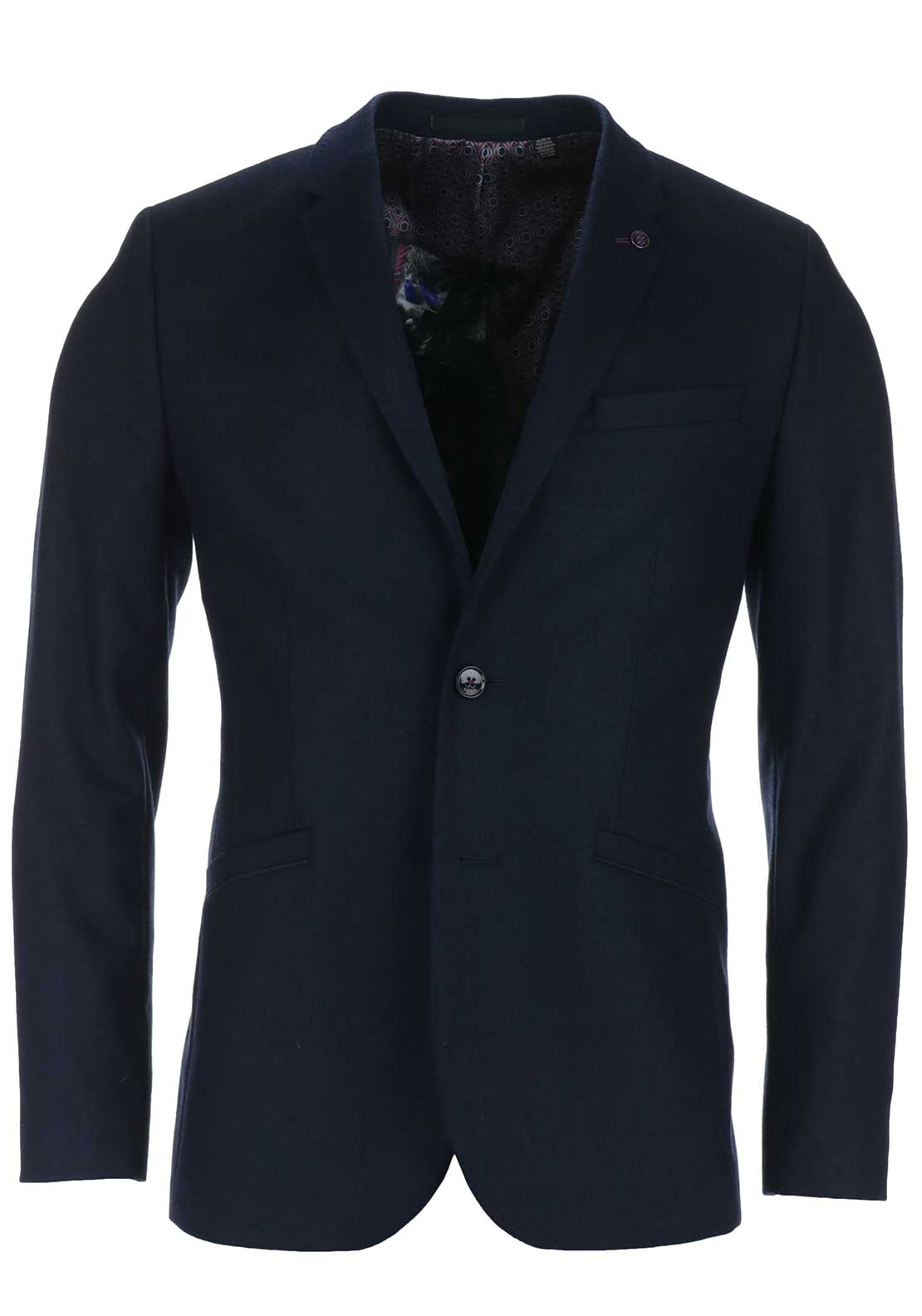 Ted Baker Mens Austin Wool Twill Sports Jacket, Navy